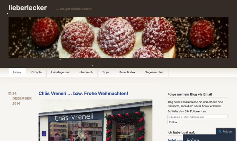Blog lieberlecker